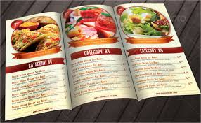 food menu template birthday drawing fast food menu template