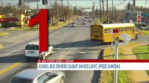 what is considered running a red light buses busted drivers caught on camera speeding running