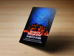 halloween party flyer templates creatily market