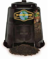 the earth machine 80 gallon backyard food waste compost bin