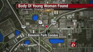 Orlando Traffic Map by Woman Shot Dead At Orlando Condo Complex