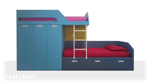 funky bunk kids staggered bunk beds funky space saving