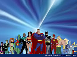 justice league unlimited jlu wallpaper by xtophe on deviantart