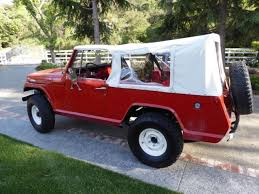 1967 jeep commando jeep commando one of the first suv s 1967 red for sale xfgiven vin