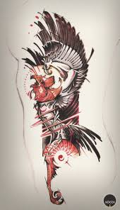 phoenix tattoo art by xocol4t4 on deviantart