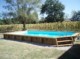 petite piscine enterree difloisirs fabricant de piscines en bois