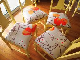 Recovering Dining Room Chair Cushions Refoaming U0026 Reupholstering Reality Daydream