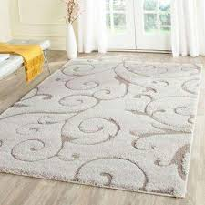 Afro Shag Rug Shag 5 X 8 Area Rugs Rugs The Home Depot