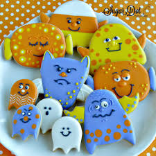 sugar dot cookies halloween cookie decorating parties october 2015