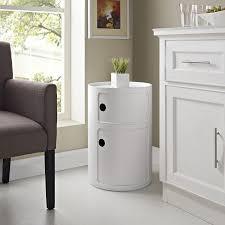 Modern Storage Units Amazon Com Modway Orbit Modern Storage Module White Kitchen