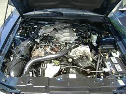3 8 v6 mustang engine atlantic blue 1999 ford mustang coupe mustangattitude com photo