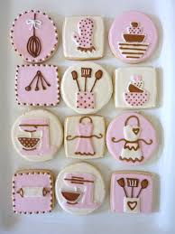cooking themed cookies cooking party pinterest bridal