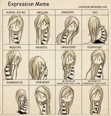 Expressions Meme - meme by monecule on deviantart