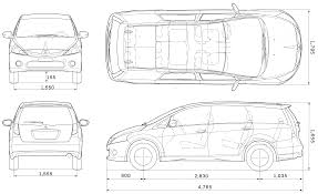 mitsubishi evo drawing car blueprints чертежи автомобилей mitsubishi