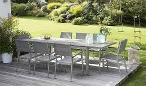 salon de jardin salon de jardin pour terrasse table exterieur bois maisonjoffrois