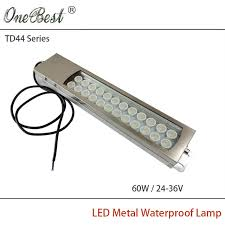 explosion proof led work light hntd 60w 24 36v td44 led metal panel light cnc machine tool