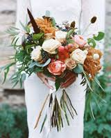 rustic wedding bouquets 53 gorgeous fall wedding bouquets martha stewart weddings