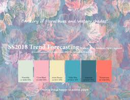 aw2017 2018 trend forecasting on pantone canvas gallery ss2018 trend forecasting on behance 2018 trends pinterest