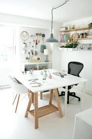 ikea bureau treteau bureau avec treteau 10 coins atelier pour racaliser ses diy bureau