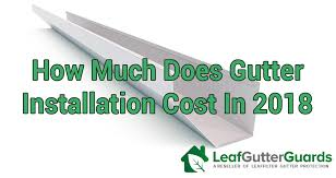 how much does it cost to install a flat pack kitchen how much does gutter installation cost in 2020 cost guide