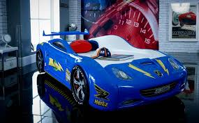 Blue Car Bed Viper Race Car Bed Blue Car Bed Shop Kids Bed Shop