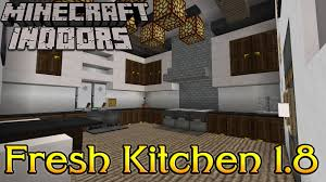 Minecraft Kitchen Furniture Minecraft Indoors Interior Design Fresh Kitchen 1 8