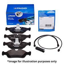 lexus breakers bristol pagid front axle brake kit brake pads pad set t1448 u0026 wear warning