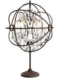 Orb Table Lamp Crystal Chandelier Table Lamp U2013 Engageri