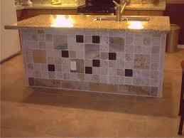 Kitchen Tiling Ideas Backsplash Fabulous Tiled Kitchen Island Also Ideas Images Tile Countertop