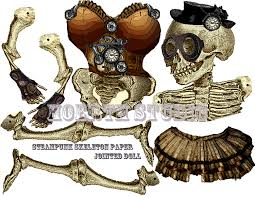 Halloween Skeletons by Popular Items For Steampunk Skeleton On Etsy Fxo Halloween