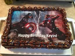 captain america vs iron man civil war cake cakecentral com