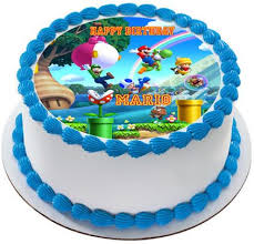 mario cake topper mario luigi 1 edible cake topper cupcake toppers edible