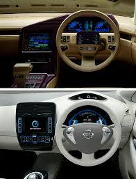 nissan leaf 2017 interior 1985 nissan cue x concept car interior vs 2015 nissan leaf