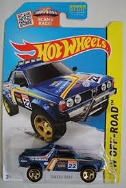 subaru brat 2015 amazon com wheels 2015 hw off road subaru brat 123 250 blue