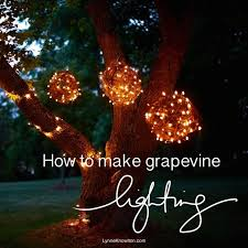 grapevine balls diy grapevine lighting balls what a bright idea