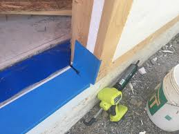 Patio Door Sill Pan Building The Air Tight Barrier Door Details