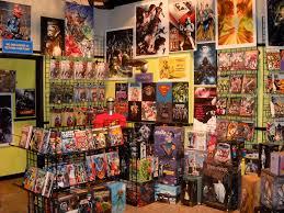 the big bang theory comic book store