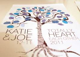 tree guest book fingerprint tree guestbook by from the thumb poptastic