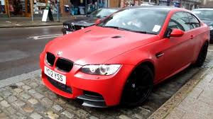matte red bmw one of 30 matt red bmw m3 performance edition driving youtube
