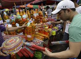 where to buy firecrackers getting ready for new year welcome 2015 with a big with