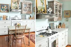 deco retro cuisine cuisine retro chic shabby chic kitchen design closer deco cuisine