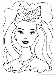 free barbie christmas coloring pages coloring pages design