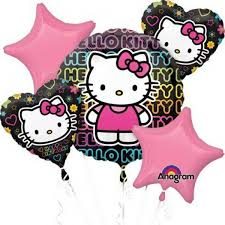 helium balloon delivery in selangor happy birthday tween hello balloon bouquet 5pc from category