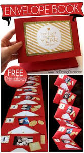 1 year anniversary gifts for him envelope memory book envelope book anniversary gifts and envelopes