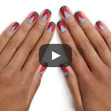essie tribal french nail art tutorial essie looks