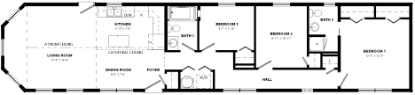 rhaye mini home floor plan