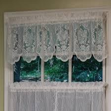 fairmount lace tier window treatment