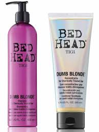 Clarifying Shampoo For Color Treated Hair Bed Head Dumb Blonde Reconstructor This Is For Everyone Not Just