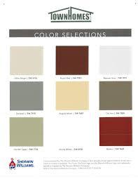 townhomes colors u0026 options colors u0026 options