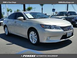 lexus hybrid san diego 2013 used lexus es 300h 4dr sedan hybrid at bmw north scottsdale
